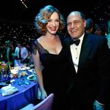 Christina Hendricks und Matthew Weiner