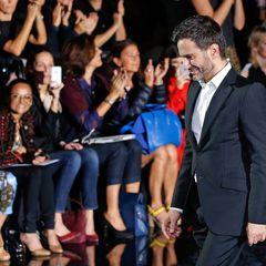 Marc Jacobs verabschiedet sich. Es war seine letzte Show für Louis Vuitton.