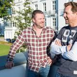 Männergespräche: GALA-Chefredakteur Christian Krug mit Thomas Heinze