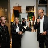 comma-Geschäftsführer Armin Fichtel begrüßt zusammen mit seiner Kollegin Sonja Blömker alle Gäste ganz herzlich.