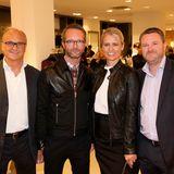 comma-Geschäftsführer Armin Fichtel, GALA-Modechef Marcus Luft, comma-Geschäftsführerin Sonja Blömker und GALA-Chefredakteur Christian Krug