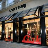 Im comma-Store in der Hamburger Innenstadt ist alles bereit für den Private View der GALA-Collection.