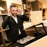 DJ Ronald Kloiber sorgt musikalisch für die richtige Stimmung.