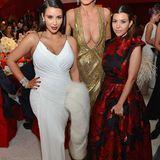 Heidi Klum hat mit ihren 1,76 Meter eine gute Modelgröße, Kim und Kourtney Kardashian können da mit 1,59 Meter und 1,52 Meter nicht gerade mithalten.