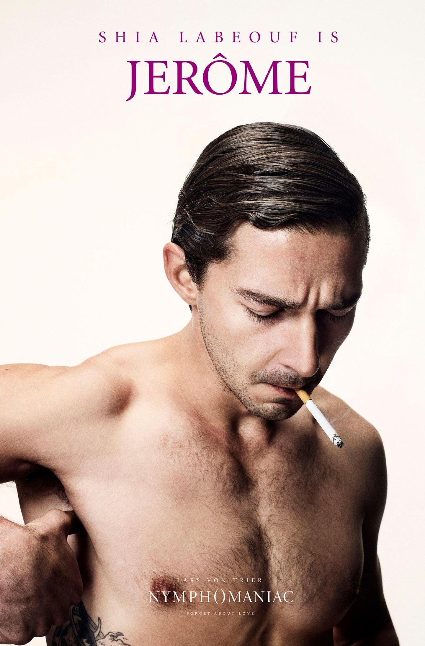 "Mit Zigarette danach: Shia LaBeouf tritt in ""Nymphomaniac"" als Womanizer auf."