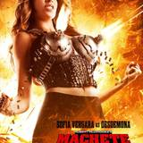 "Knalleffekt-Sexappeal à la Roberto Rodriguez: Der Regisseur inszeniert Sofia Vergara in ""Machete Kills"" als mordende ""Madame Desdemona""."
