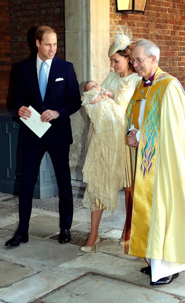 Der Erzbischof von Canterbury Justin Welby hat die Zeremonie geleitet.