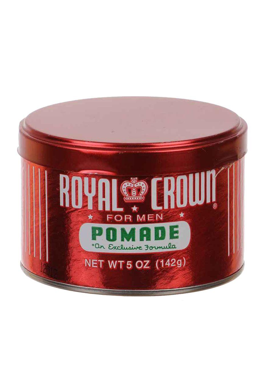 """Mit der kultigen """"Royal Crown Pomade"""" stylte schon Johnny Cash seinen Quiff. 142 g, ca. 8 Euro, www.pomade-shop.eu"""
