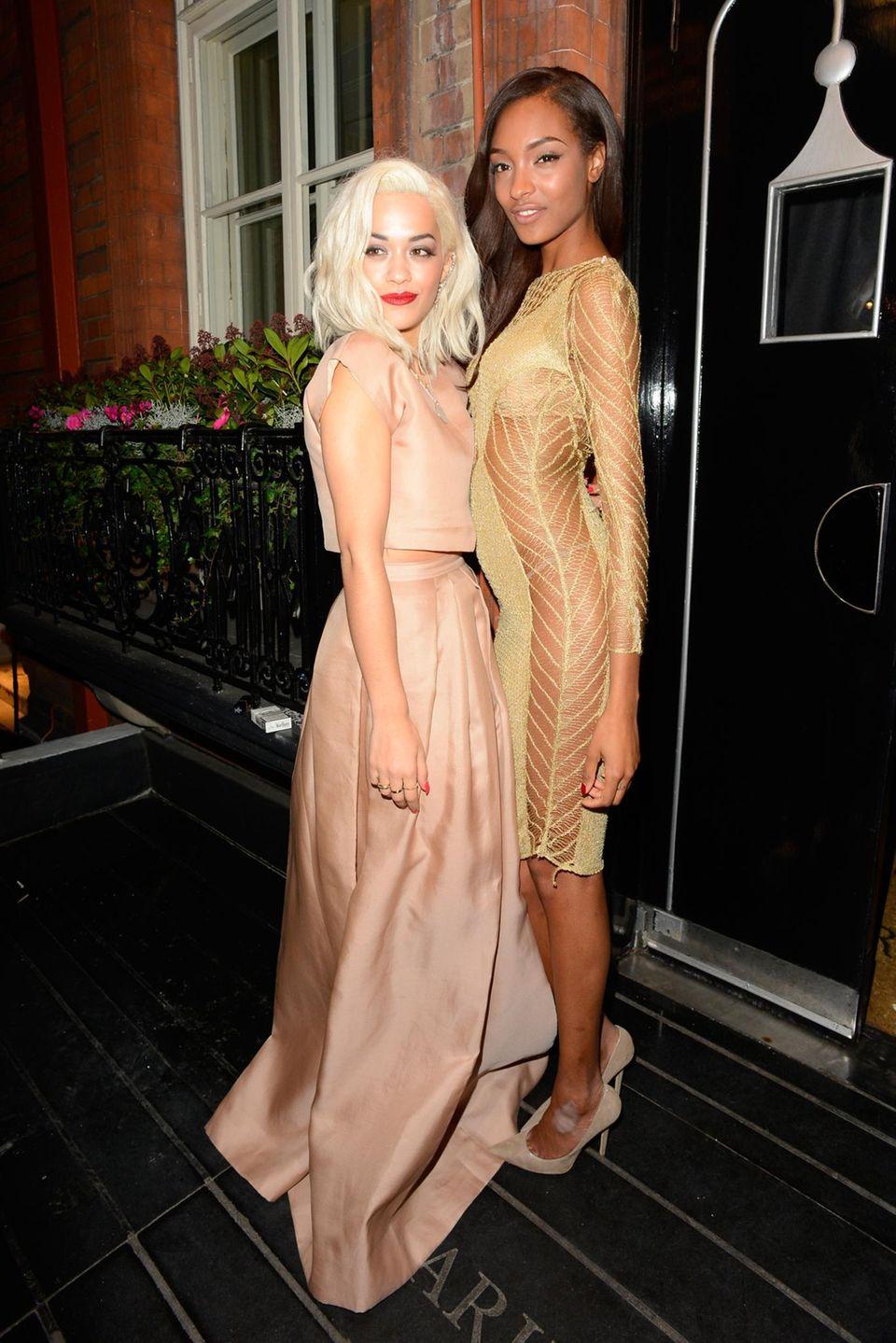 Rita Ora (Musician of the Year) und Jourdan Dunn (Model of the Year)