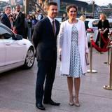 Am Abend nimmt das Kronprinzenpaar an einem Empfang im Opernhaus von Sydney teil.