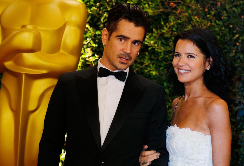 Colin Farrell und seine Schwester Claudine