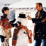 """""""Jack Frost""""  Michael Keaton spielt 1998 """"Jack Frost"""", der nach einem tödlichen Unfall als Schneemann zurückkehrt und so die verlorene Zeit mit seinem Sohn nachholen kann."""