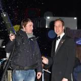 Prinz William freut sich über den Mann mit der Schneekanone.