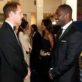 Prinz William und Idris Elba