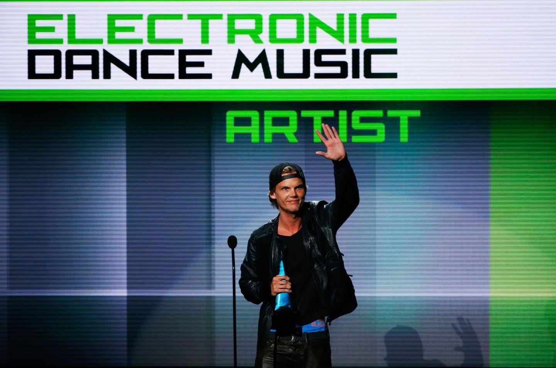 """Der Schwede Avicii wird in der Kategorie """"Favorite Artist Electronic Dance Music"""" ausgezeichnet."""