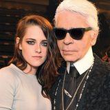 """Kristen Stewart ist das Gesicht der neuen """"Métiers d'Art""""-Kollektion von Chanel. Karl Lagerfeld hat fotografiert, und die Kampagne wird ab Mai 2014 zu sehen sein."""