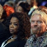 Oprah Winfrey und Unternehmer Richard Branson gehören auch zu den Gästen.