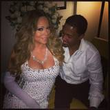 """You like this and you know it"" - Nick Cannon freut sich über Mariah Careys freizügiges Silvesteroutfit."