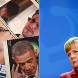 Edward Snowden, Angela Merkel