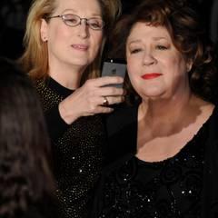 Meryl Streep und Margo Martindale