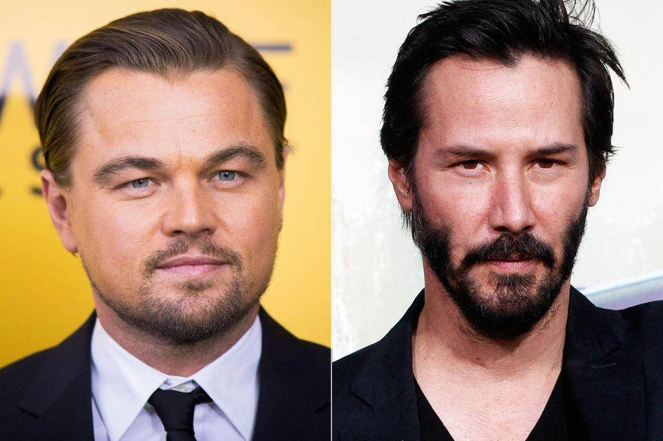 """Nachdem Nicolas Cage die Rolle des """"Neo"""" in Matrix abgelehnt hat, wurden neben Keanu Reeves auch Leonardo DiCaprio und Tom Cruise gefragt. DiCaprio lehnte die Rolle jedoch ab. Zum Glück für Reeves, den die """"Matrix""""-Filme weltweit berühmt machten."""