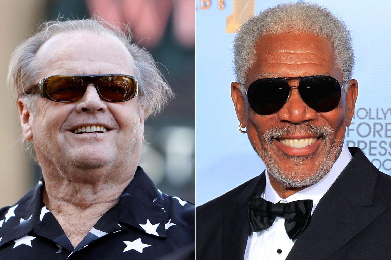 """Wer würde nicht gerne mal Gott spielen? Schauspieler Jack Nicholson hat die Rolle in """"Bruce Allmächtig"""" seinerzeit jedoch nicht bekommen. Morgan Freeman mimte an seiner Stelle Gott."""
