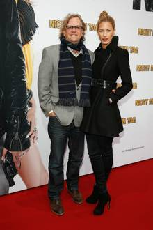 Manfred Krug und Julia Trainer