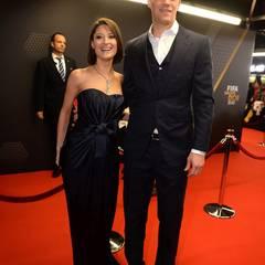 Manuel Neuer mit seiner Freundin Katrin