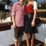 Bastian Schweinsteiger und Model Sarah Brandner leben gemeinsam in München. Das Paar ist seit 2007 zusammen.