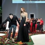 """Applaus für den Star-Designer: Michael Michalsky beim Finale seiner """"CITY LOVE""""-Fashion-Show"""