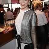 Und Jasmin Wagner genießt den Pommery-Champagner schon.