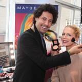 Star-Stylist Boris Entrup macht auch bei diesem Fashion Brunch mit Maybelline schöne Frauen wie Tamara Gräfin von Nayhauß zu noch schöneren Frauen.