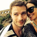 Juni 2014  Die schwangere Moderatorin Nazan Eckes macht mit ihrem Mann Julian Khol Urlaub in Frankreich und teilt die Fotos über Facebook mit ihren Fans.