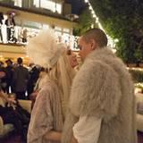 März 2013  Ashlee Simpson und Evan Ross fiern ihre Verlobung mit Familie und Freunden.