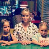 Juni 2014  Reese Witherspoon verbringt einen Tag mit ihren Nichten.