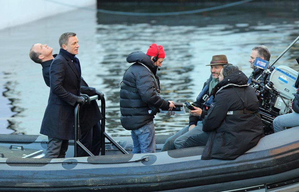 """16. Dezember 2014: Natürlich handelt es sich hier um den neuen James Bond Film """"Spectre"""". Wir sind gespannt was Daniel Craig uns diesmal zu bieten hat."""