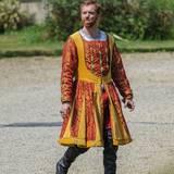 """29. Juli 2014: """"Homeland""""-Star Damian Lewis steht im britischen Oxfordshire für die neue BBC-Serie """"Wolf Hall"""" vor der Kamera. Er verkörpert King Henry VIII."""