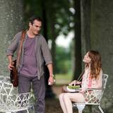 28. Juli 2014: Emma Stone und Joaquin Phoenix drehen Woody Allens neuen Film in Newport.
