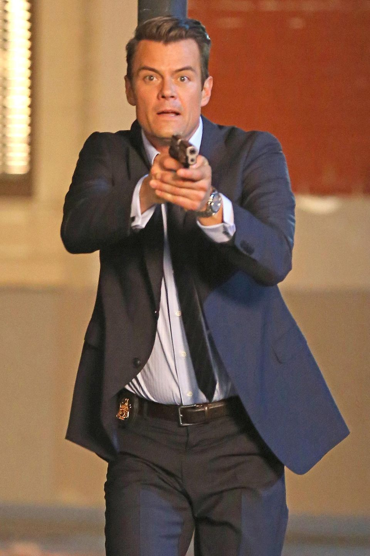 """20. März 2014: In der TV Serie """"Battle Creek"""" spielt Josh Duhamel die Rolle des """"Detective Milton Chamberlain"""". Die Dreharbeiten dafür finden in Los Angeles statt."""