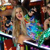 18. Oktober 2014: Fergie dreht in Los Angeles ihr neues Musikvideo.