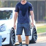 """19. August 2014: Schweißtreibende Szene für Zac Efron, im Film """"We Are Your Friends"""" spielt er einen DJ, der auf den großen Durchbruch hofft."""