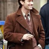 """19. Oktober 2014: Jude Law ist am Set von """"Genius"""" in Manchester anzutreffen."""