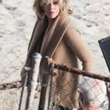 "8. August 2014: Am Strand von Malibu dreht Jane Fonda ""Grace and Frankie""."