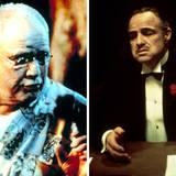 """Marlon Brando  Nach mehreren Oscar-Nominierungen und einem Oscar für """"Die Faust im Nacken"""" gewinnt Marlon Brando 1973 mit seiner Paraderolle """"Der Pate"""" einen weiteren Goldjungen als bester Hauptdarsteller. 1997 folgt dann ein Golden Raspberry Award als schlechtetster Nebendarsteller in """"Die Insel des Dr. Moreau""""."""