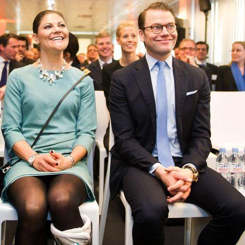 Bei Ericsson finden Gespräche mit Seminarteilnehmern statt.