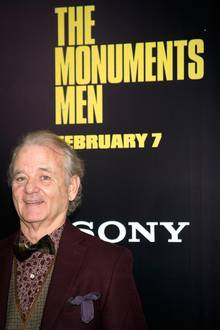 "Auch Bill Murray hat eine Rolle im Film ""The Monument Men""."