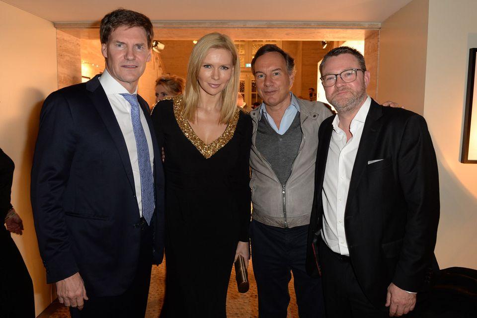 Von links: Carsten Maschmeyer, Veronica Ferres, Nico Hofmann und Christian Krug
