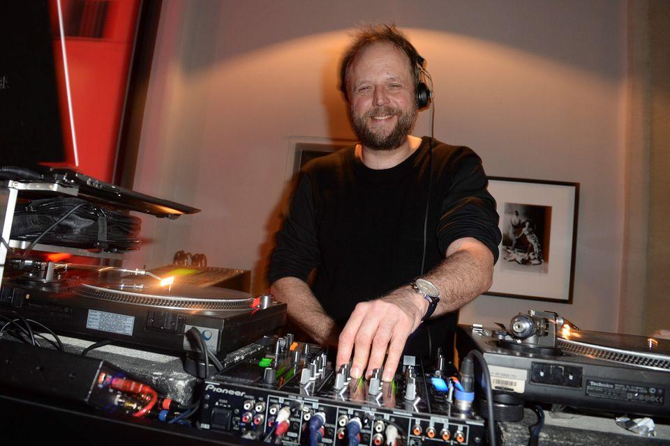 DJ Smudo ist ganz in seinem Element.
