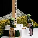 15. August 2014: Kaiser Akihito und seine Gattin Michiko gedenken der Überlebenden des Zweiten Weltkrieges bei einer Zeremonie in der Budokan Hall in Tokio.