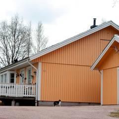 In diesem Haus in Älvdalen ist Sofia Hellqvist aufgewachsen. Ihre Eltern leben heute noch dort.